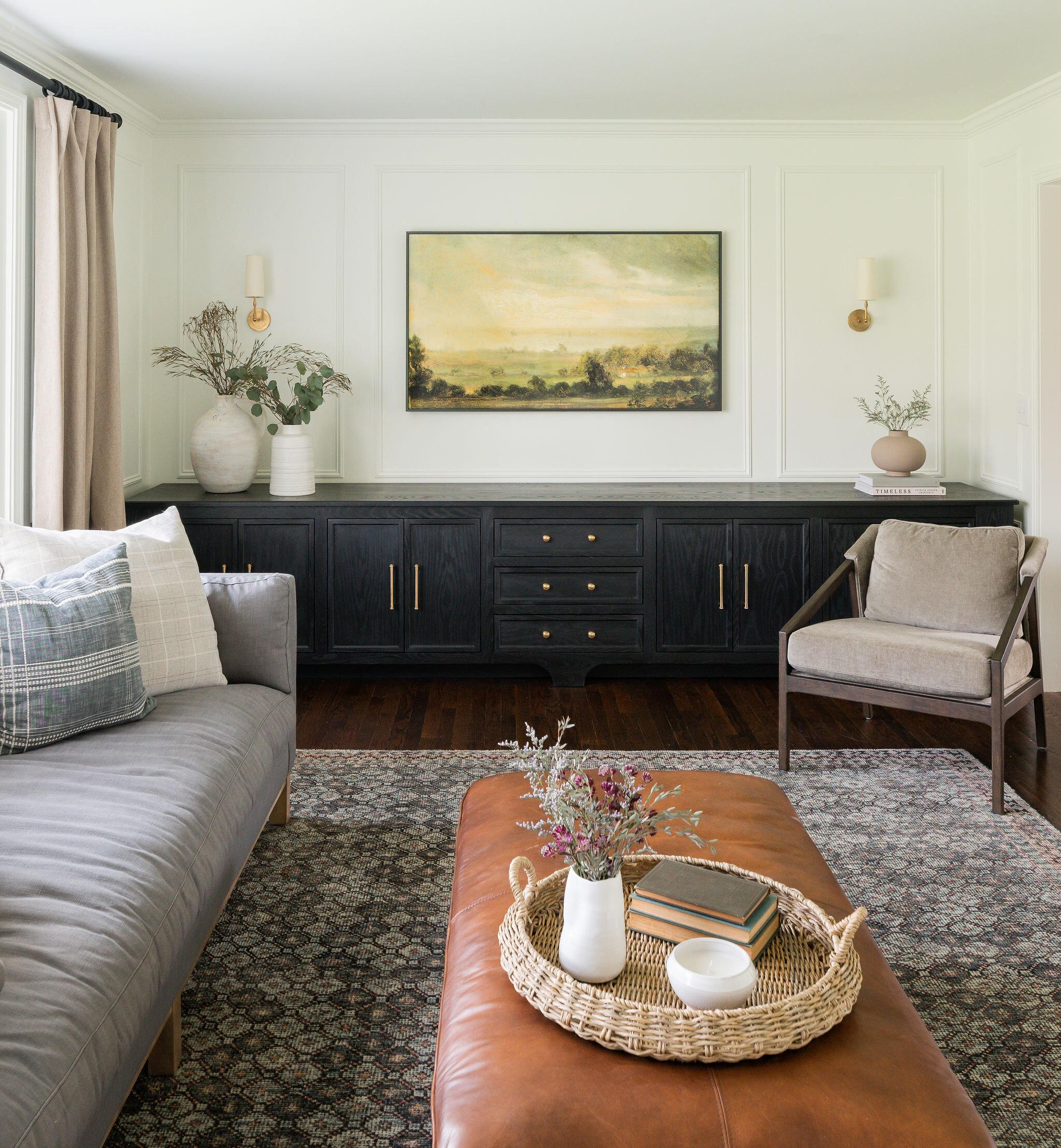 quarles living room design