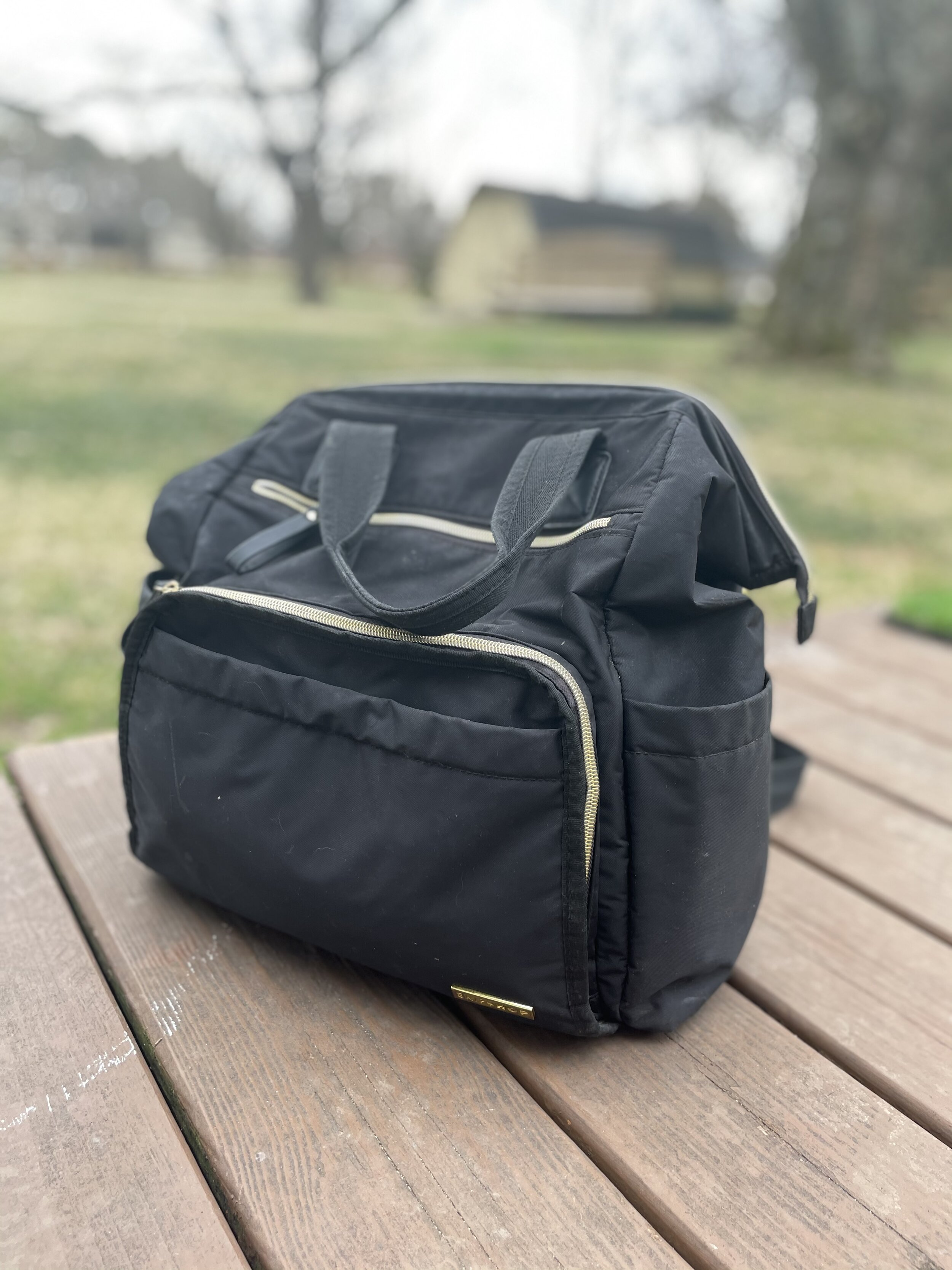 - This diaper bag has been a huge win. We still take it everywhere we go and it has held up for over 2 years!