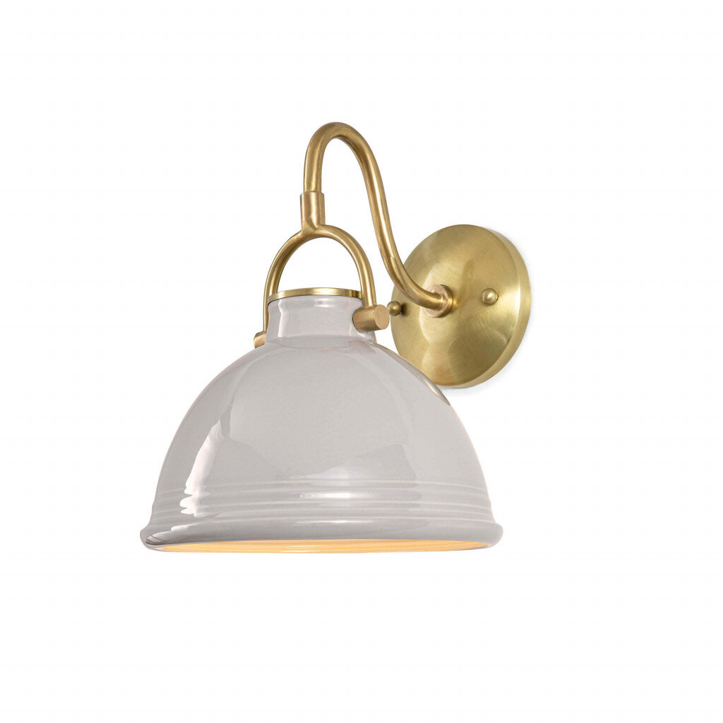 - Combining beauty and utility, the classic shape of the ceramic Eloise sconce has all the makings of great design and quality. Very versatile in it's uses, and we love the ceramic element!