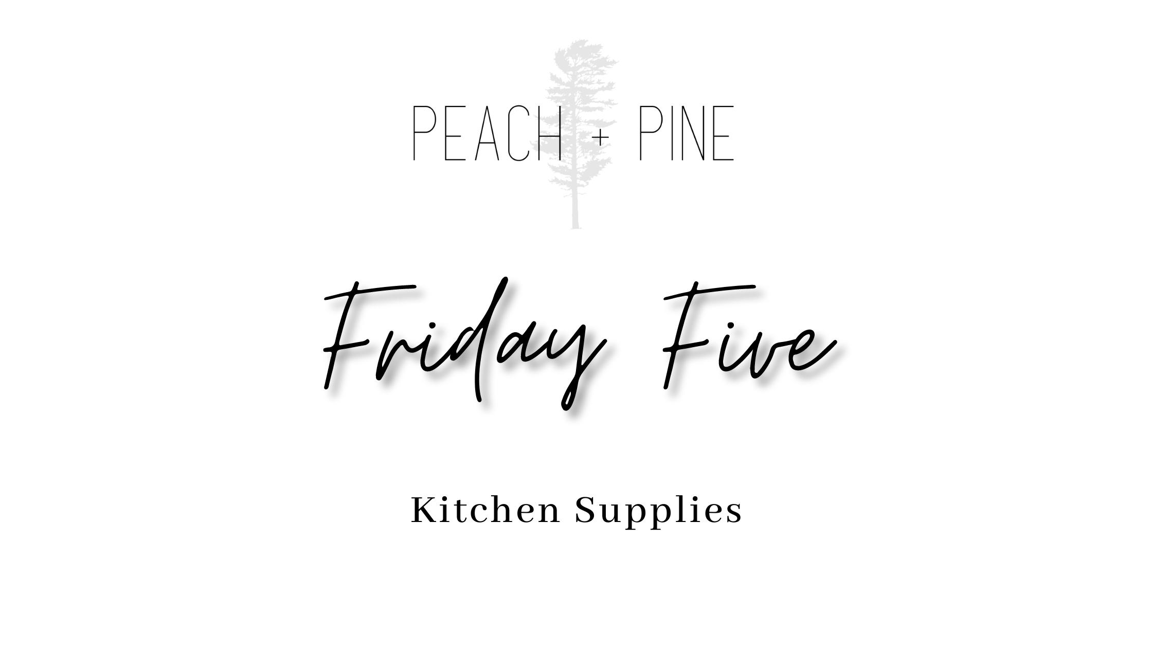 Kitchen supplies for every kitchen