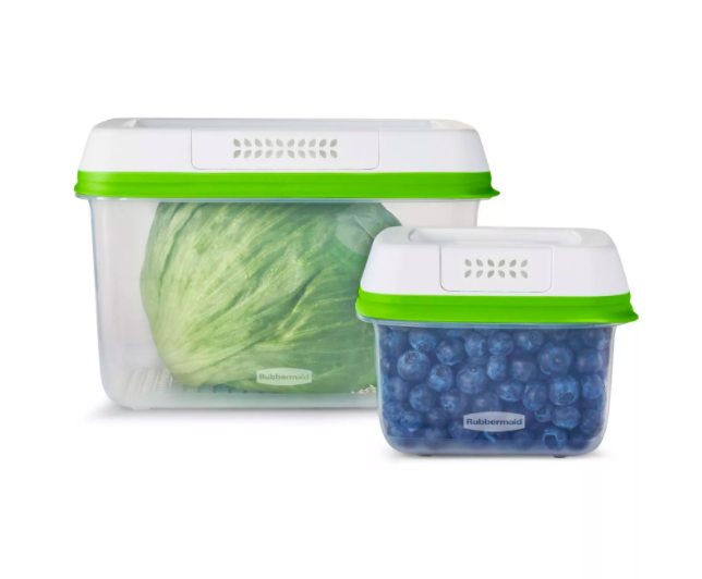 - These little guys are great for keeping your produce fresh! They come in various sizes and are super easy to clean!