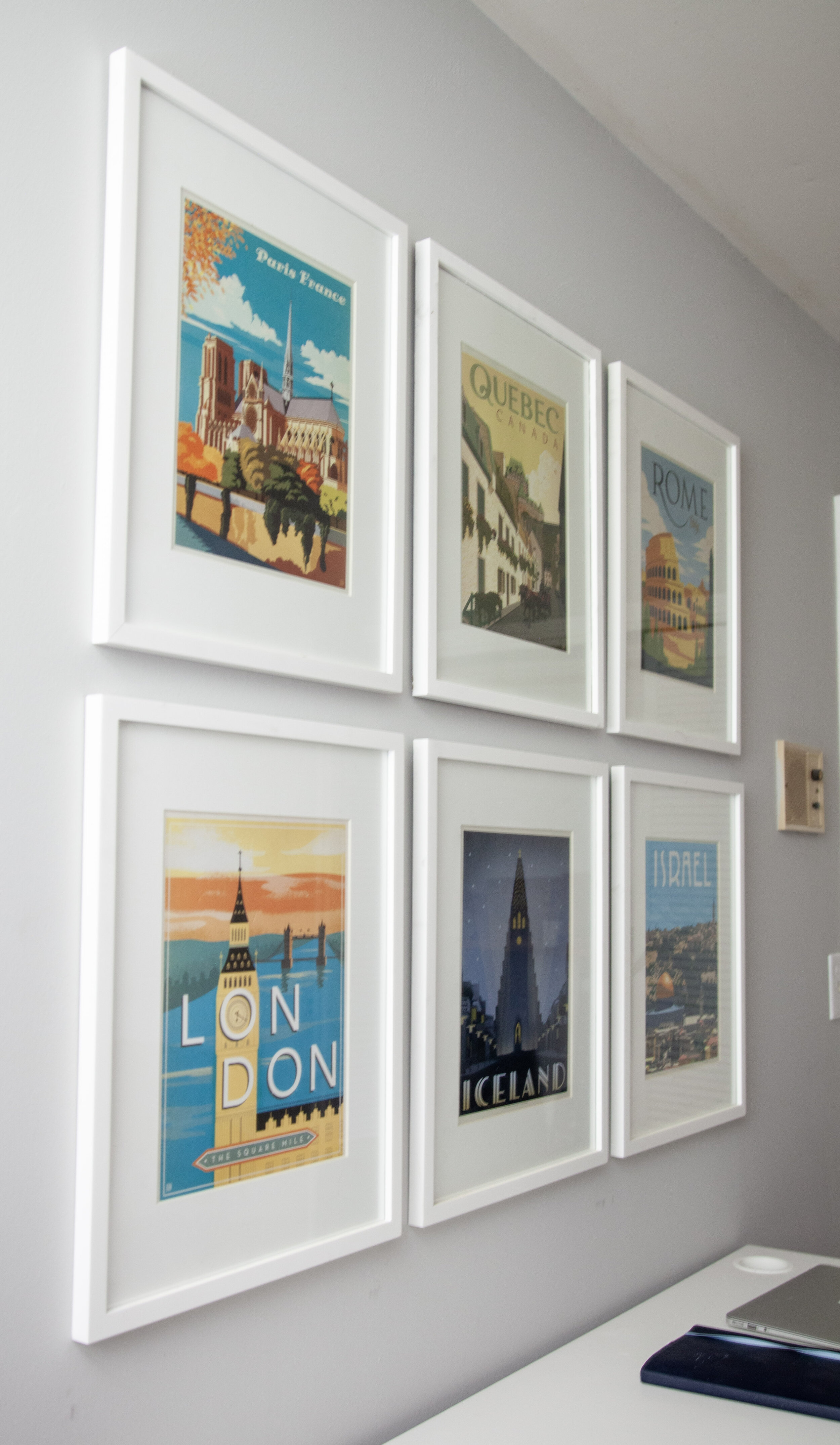 Anderson Design Group - Travel Print Gallery Wall
